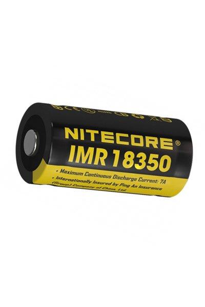 Nitecore 1x 18350 battery (700 mAh, Rechargeable)