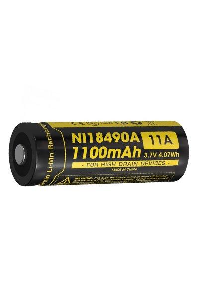 Nitecore 1x 18490 batteri (1100 mAh, Laddningsbar)