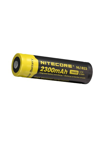 Nitecore 1x 18650 battery (2300 mAh, Rechargeable)