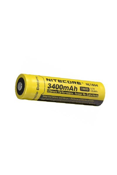 Nitecore 1x 18650 battery (3400 mAh, Rechargeable)