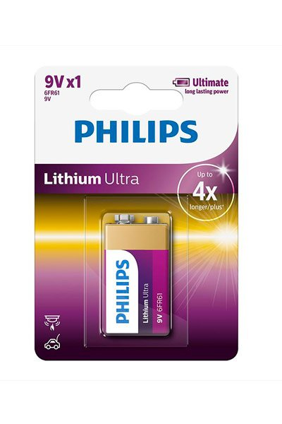 Philips 9V block battery