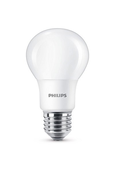 Philips E27 LED Lamp 8W (60W) (Pear, Frosted)
