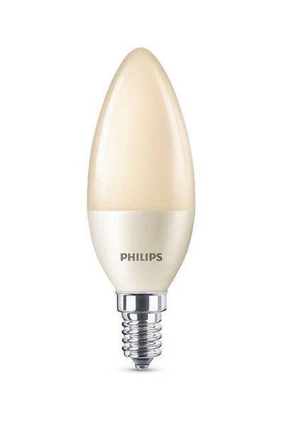Philips Becuri LED E14 4W (15W) (Lumânare, Mat, Reglabil)