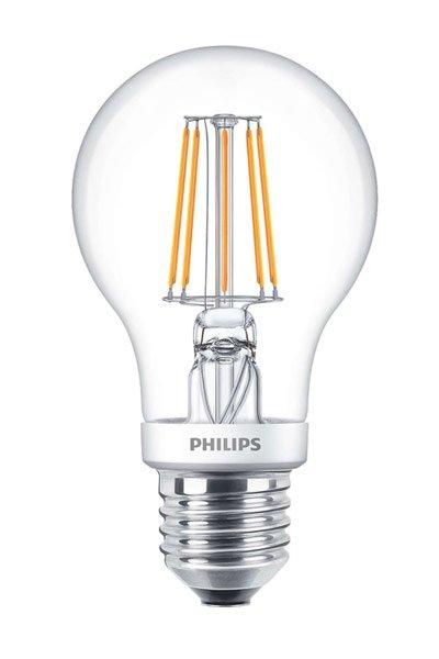 Philips Filament E27 LED lampen 4,5W (40W) (Birne, Klar, Dimmbar)