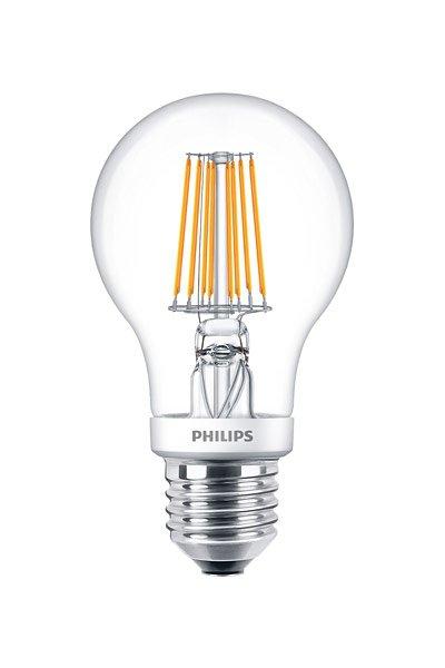 Philips Filament E27 LED lampen 7,5W (60W) (Birne, Klar, Dimmbar)