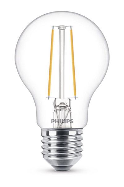 Philips E27 LED lampen 5,5W (40W) (Birne, Klar, Dimmbar)