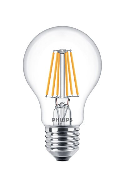 Philips Filament E27 LED Lamp 5,5W (40W) (Pear, Clear, Dimmable)