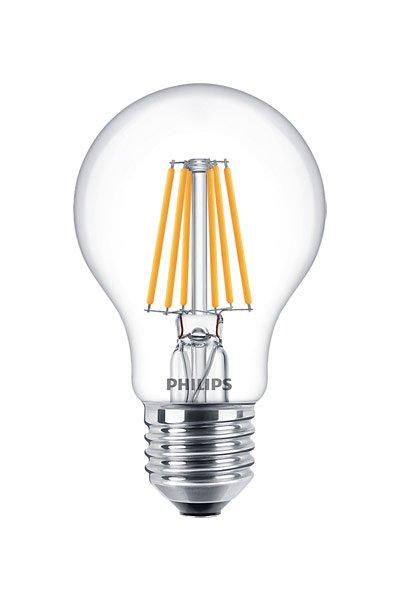 Philips Filament E27 LED lampen 5,5W (40W) (Birne, Klar, Dimmbar)