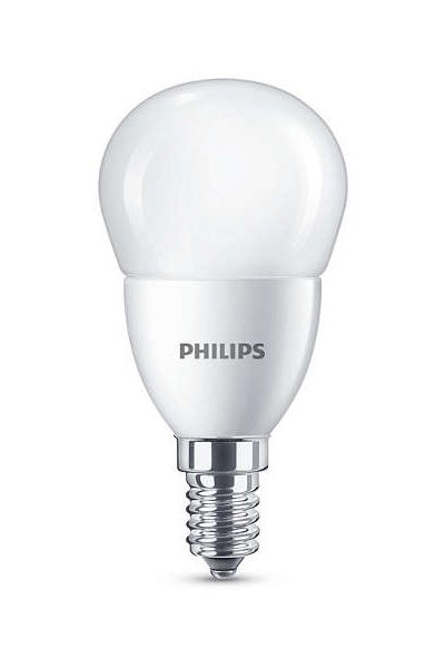 Philips E14 Lâmpadas LED 3,5W (20W) (Bulbo, Fosco)