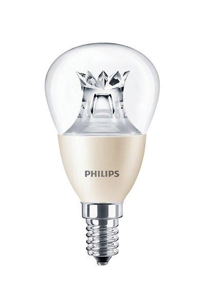 Philips E14 Lâmpadas LED 6W (40W) (Bulbo, Transparente, Regulável)