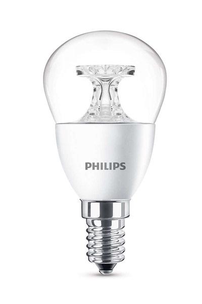 Philips E14 Lâmpadas LED 5,5W (40W) (Bulbo, Transparente)