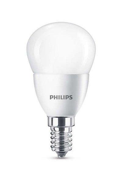 Philips E14 Lâmpadas LED 5,5W (40W) (Bulbo, Fosco)