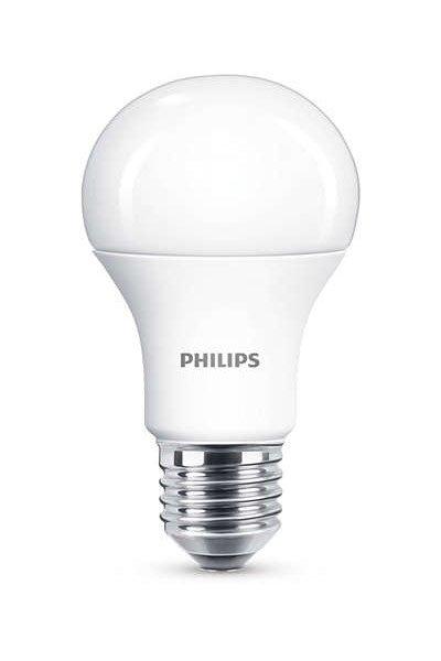 Philips E27 Светодиодные лампы 11,5W (75W) (Груша, Матовый, Регулировка яркости)