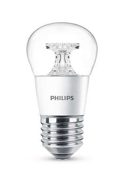 Philips E27 LED Lamp 5,5W (40W) (Lustre, Clear)