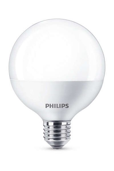 Philips E27 LED Lamp 16,5W (100W) (Globe, Frosted)