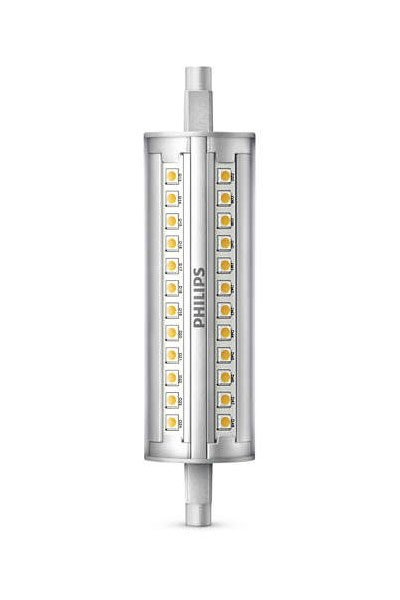 Philips Lámparas LED 14W (100W) (Tubo, Vaciar, Regulable)