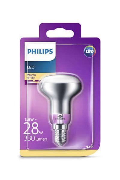 Philips Becuri LED E14 3,8W (28W) (Reflector)
