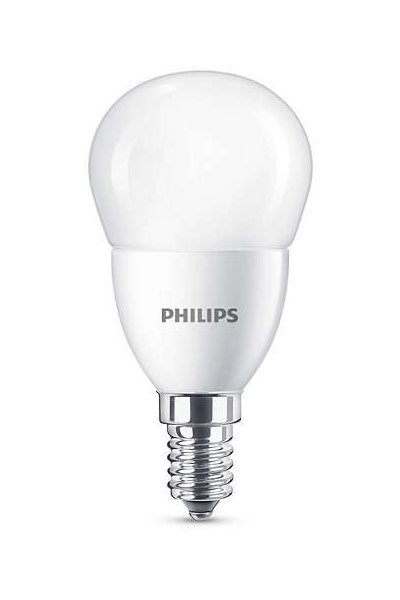Philips E14 LED Lamp 7W (60W) (Lustre, Frosted)