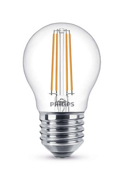 Philips Filament E27 LED Lamp 5W (40W) (Lustre, Clear, Dimmable)