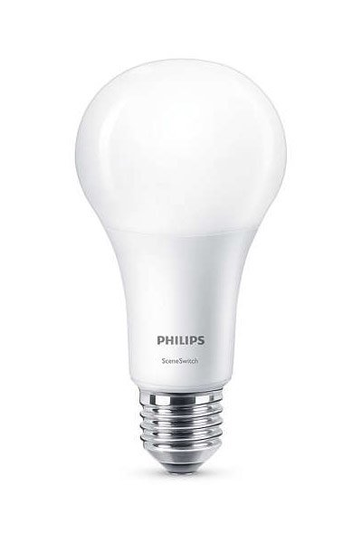 Philips E27 LED Lamp 14W (100W) (Pear, Frosted)