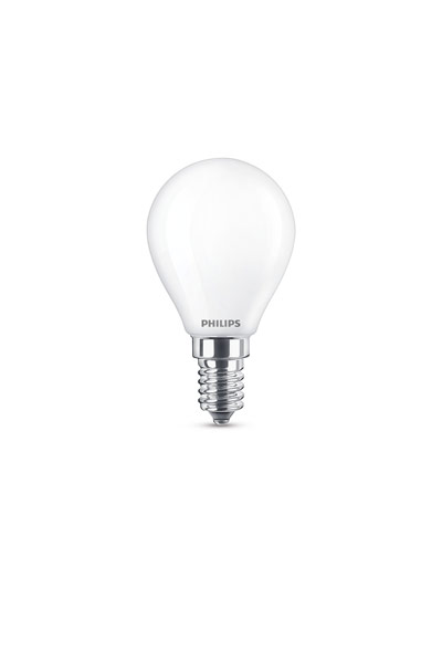 Philips E14 LED Lamp 4,3W (40W) (Lustre, Frosted)