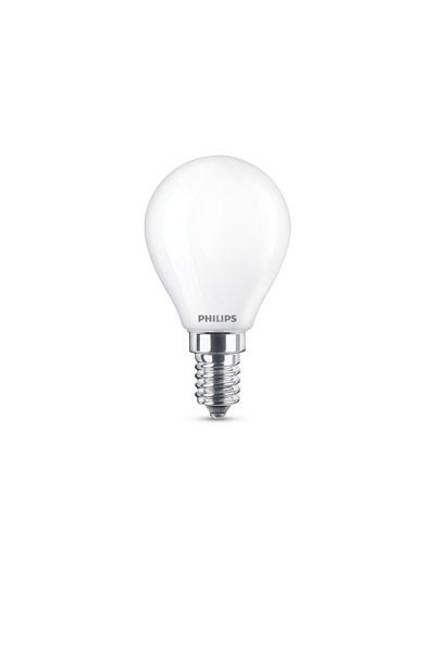 Philips E14 Lâmpadas LED 4,3W (40W) (Bulbo, Fosco)