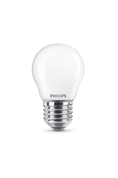 Philips E27 LED Lamp 4,3W (40W) (Lustre, Frosted)