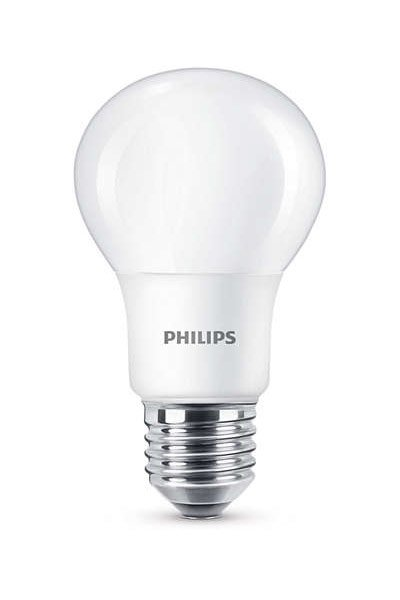 Philips E27 LED Lámpák 5,5W (40W) (Körte, Matt, Szabályozható)