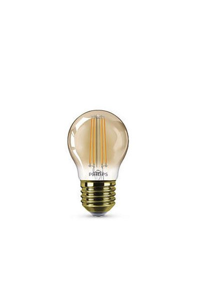 Philips Filament E27 LED lampen 5W (35W) (Kronleuchter, Klar, Dimmbar)