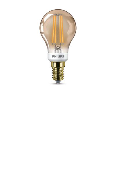 Philips E14 Lâmpadas LED 5W (32W) (Bulbo, Transparente, Regulável)