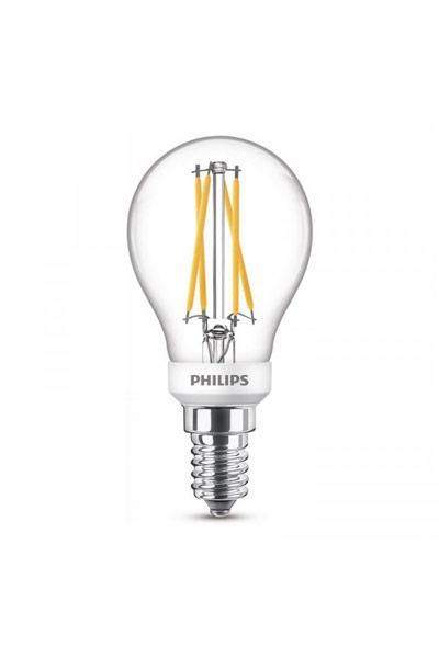Philips Becuri LED E14 3,5W (25W) (Lustră, Transparent, Reglabil)