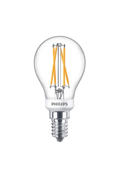 Philips Becuri LED E14 6W (40W) (Lustră, Transparent, Reglabil)