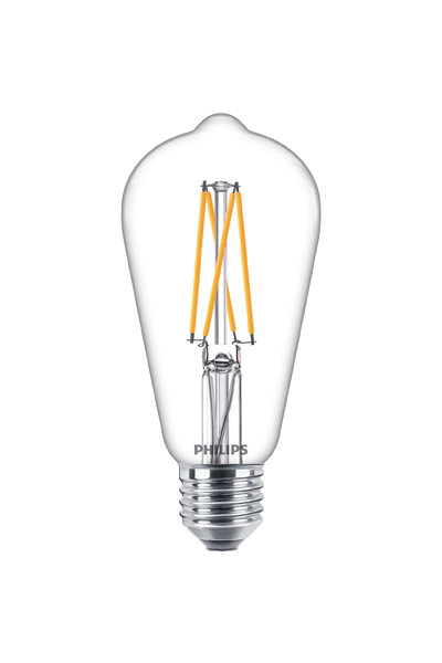 Philips E27 LED Lamp 9W (60W) (Clear, Dimmable)