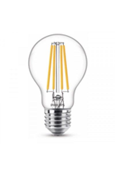 Philips E27 LED lampen 10,5W (100W) (Birne, Klar)