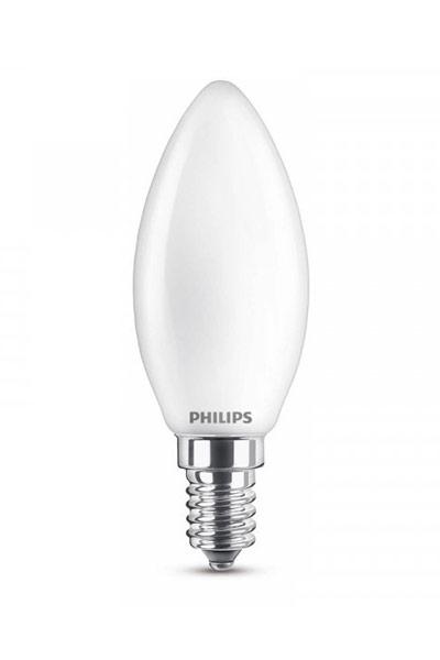 Philips Becuri LED E14 2,2W (25W) (Lumânare, Mat)