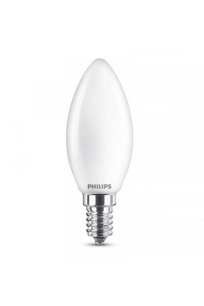 Philips Becuri LED E14 6,5W (60W) (Lumânare, Mat)