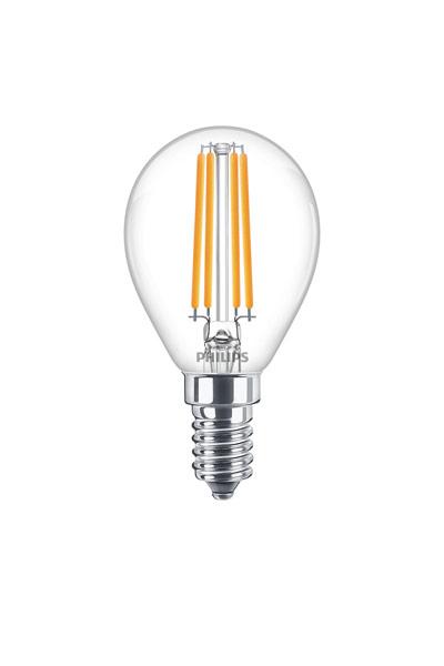 Philips E14 Lâmpadas LED 6,5W (60W) (Bulbo, Transparente)