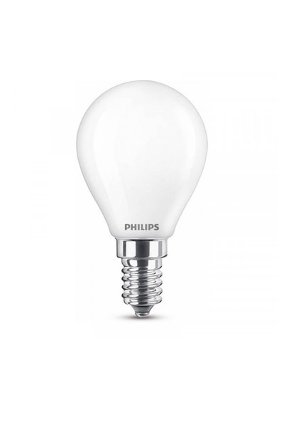Philips E14 LED Lamp 6,5W (60W) (Lustre, Frosted)