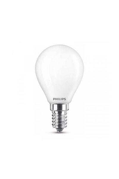 Philips E14 Lâmpadas LED 6,5W (60W) (Bulbo, Fosco)
