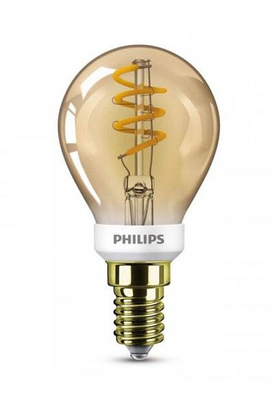 Philips Becuri LED E14 3,5W (15W) (Lustră, Transparent, Reglabil)