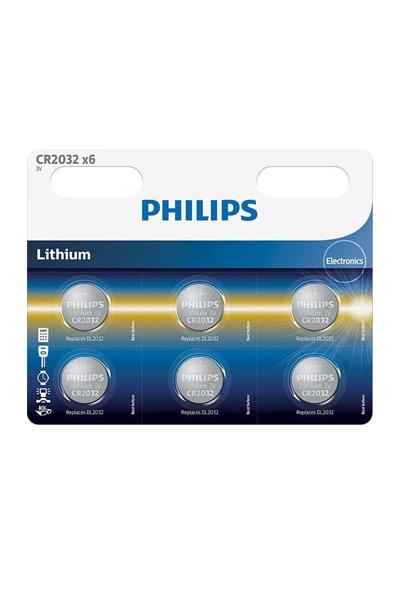Philips BO-PH-CR2032-6 Batterie (, Original)