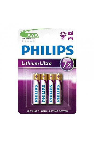 Philips 4x AAA elem