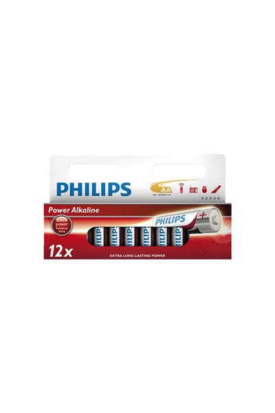 Philips 12x AA Batterie