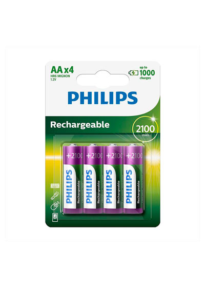 Philips BO-PHI-AA-2600-4 batteri (2600 mAh, Original)