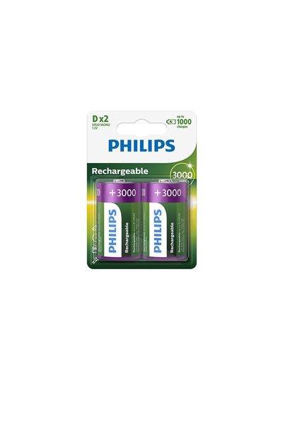 Philips 2x d Batterie