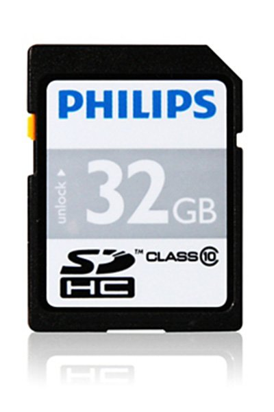 Philips SD (SDHC, Class 10) 32 GB Speicherkarte / USB-sticks