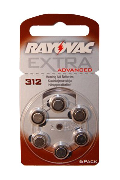 Rayovac 1 x PR41 Coin cell (Brown)