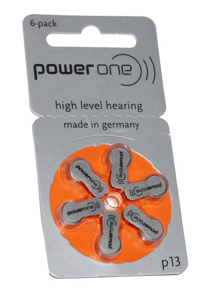 Power One 6x PR48 Knopfzelle (orange)