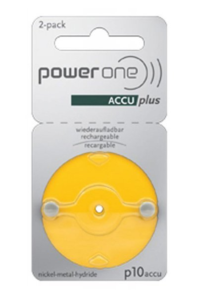 Powerone 2x PR536 Coin cell (Yellow)