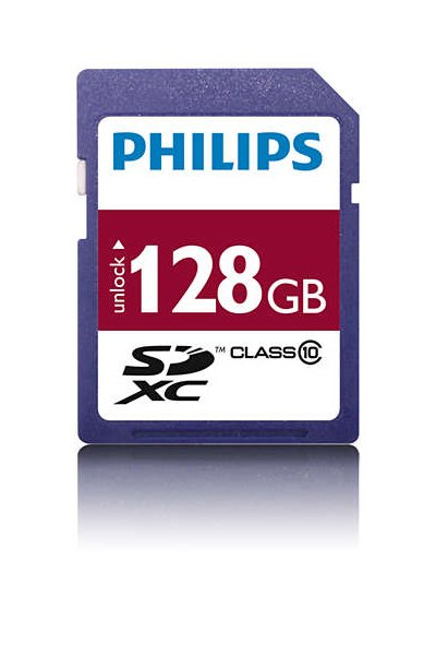 Philips SD (SDXC, Class 10) 128 GB Memoria / archiviazione